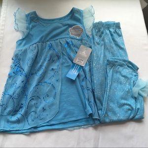 Disney Store Cinderella Pajama Set-L 9/10-NWT